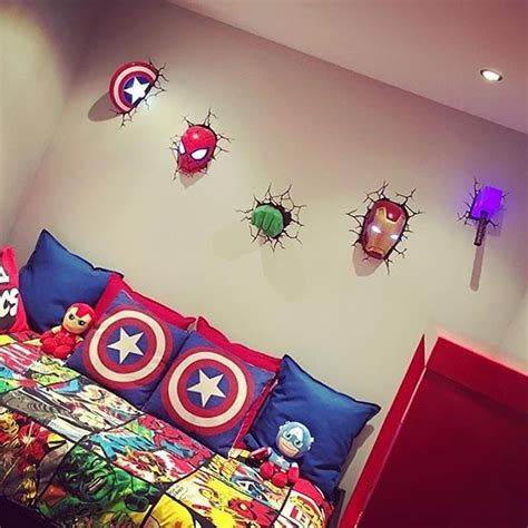 marvel comic bedroom decor check out this awesome marvel themed room thanks for the