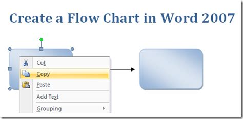 how to create a flowchart in word 2010 create a flow chart in msword microsoft office support