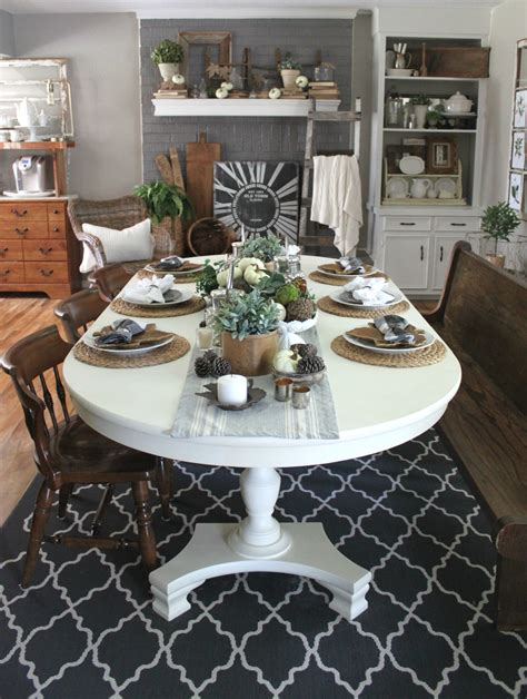dining room tablescapes my fall dining room an inspired nest