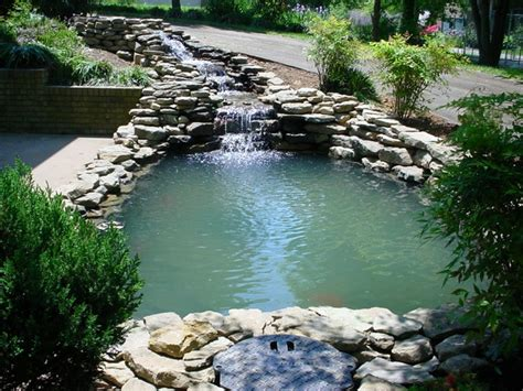 backyard water backyard water feature window ac stove basement