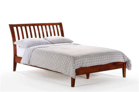 platform beds queen queen nutmeg platform bed by night and day furniture