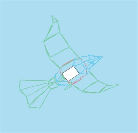 How To Make Paper Shapes In 3d - create a 3d paper bird with geometric shapes in adobe