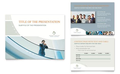 consulting presentation template business consulting powerpoint presentation powerpoint