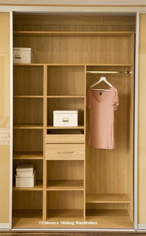 oak interiors  fitted wardrobe closet storage
