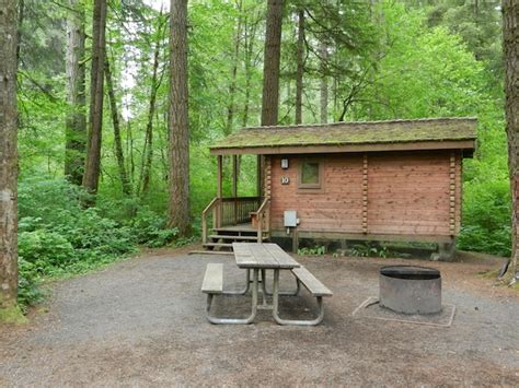 Silver Creek Falls Cabins by A Rustic Cabin Stay At Silver Falls State Park Oregon