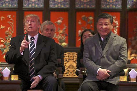 donald trump visit china u s chinese companies sign deals valued at 9 billion