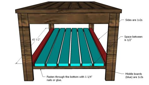 white build an outdoor coffee table htons