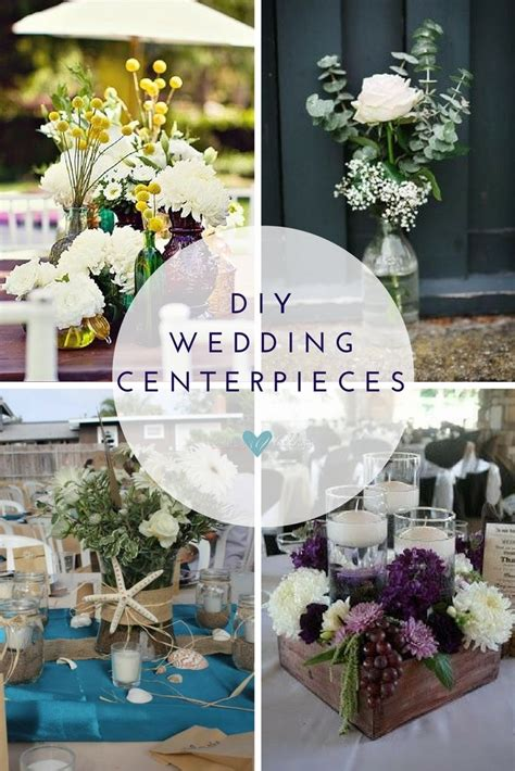 Handmade Wedding Centerpieces - affordable wedding centerpieces original ideas tips diys