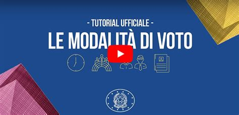 interno gov it come si vota elezioni 2018 ministero dell interno