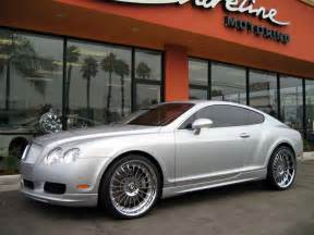 Bentley Silver Silver Wald Bentley Continental Gt 1 Madwhips