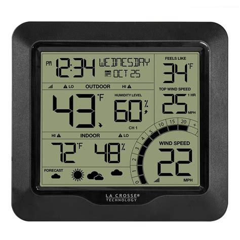 lacrosse wireless color weather station la crosse technology digital wireless color weather