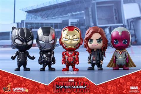 Toys Cosbaby Iron I Metallic Colour Version Bobble captain america civil war cosbabys announced diskingdom disney theme park