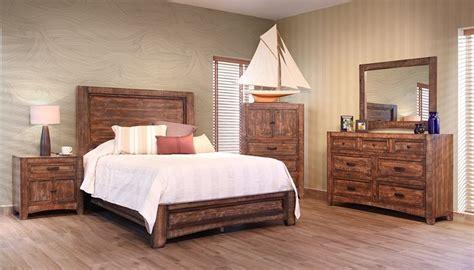 ifd furniture  porto rustic bedroom set dallas designer furniture