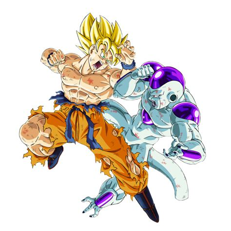 Goku Vs Frieza ss goku vs frieza