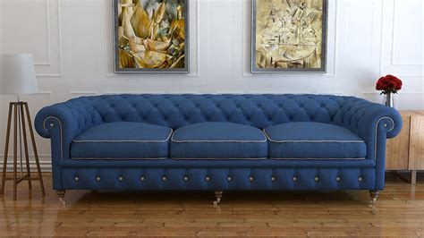 blue chesterfield sofa blue chesterfield sofa bed blue