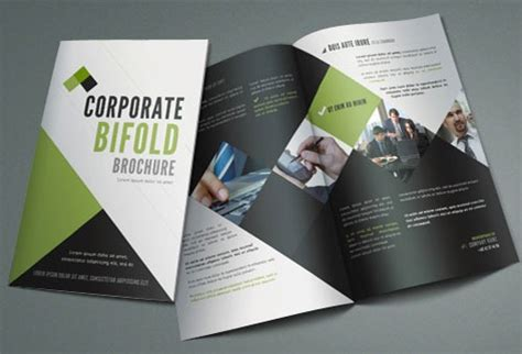 bi fold brochure template publisher 17 best free brochure templates designbump