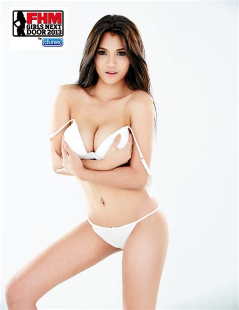 beautiful and fhm next door 2013 thailand