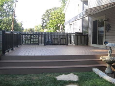 composite decking brands composite decking problems