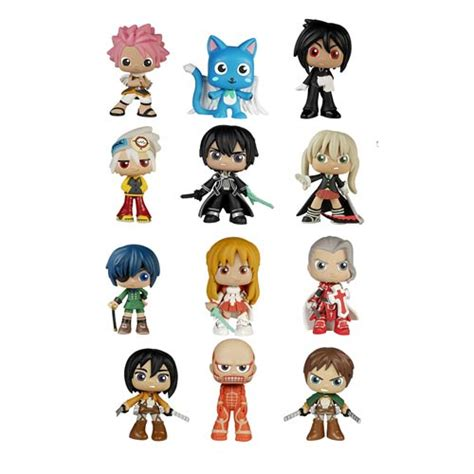 best mystery best of anime mystery minis mini figure random 4 pack
