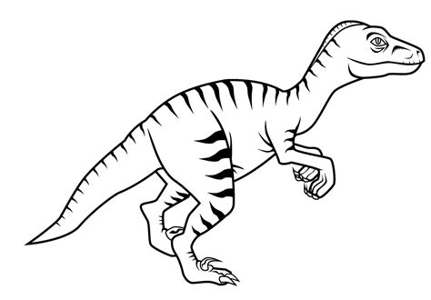 free printable velociraptor coloring pages dinosaur velociraptor coloring pages build a dino