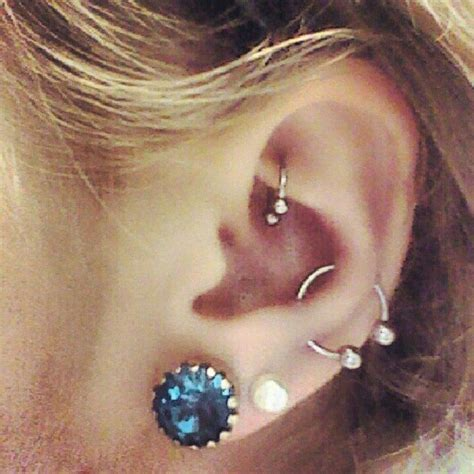 25 best ideas about snug piercing on ear