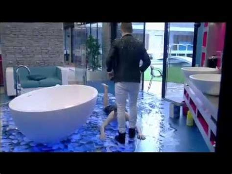 Keep Your Tub Flood Free With The Starfish Bath Alert by Day 9 Big Jedward Flood The Bathroom