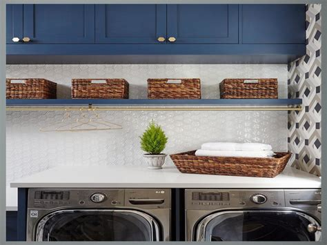 navy blue laundry room color schemes  small loundry