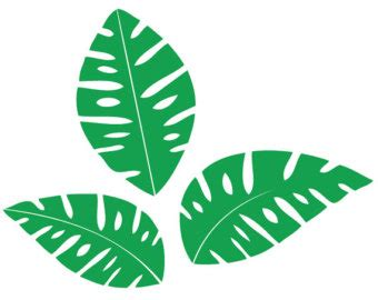 jungle leaf template free download clip art free clip