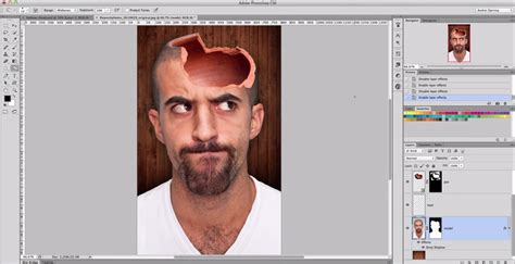 tutorial picsart italiano hollow head effect in photoshop how easy to create a