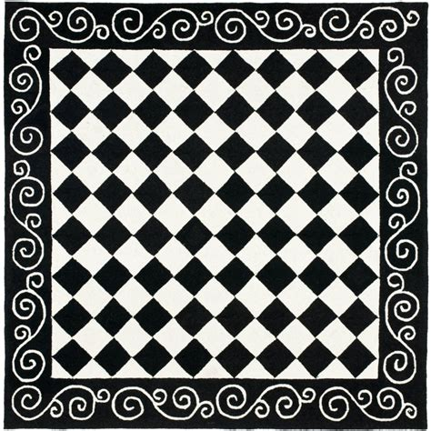 Black And White Kitchen Rug Black And White Checkered Kitchen Rug Whyrll
