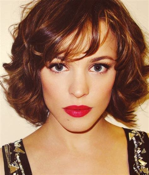 how to blow dry a bob hair cut six great hairstyles for thick hair bobs rachel mcadams
