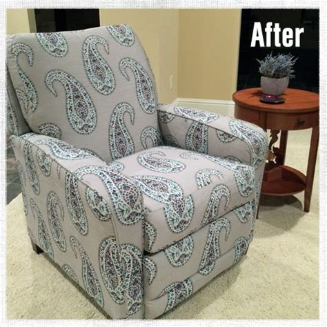 How To Reupholster A Reclining Sofa by Best 25 Recliner Cover Ideas On