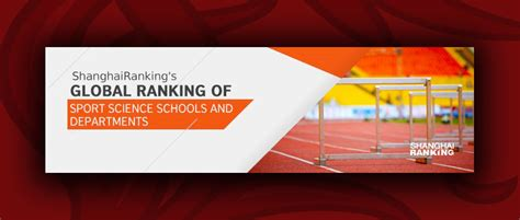 Us News Rankings Mba Sports Management by Global Ranking Of Sport Science Schools And Departments