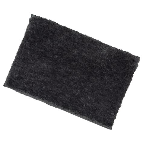 bathroom rugs with non skid backing 40x60cm slate tufted microfibre shower bath mat rug non slip backing bamboobliss