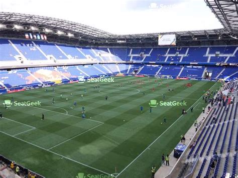 red bull arena section  seat views seatgeek