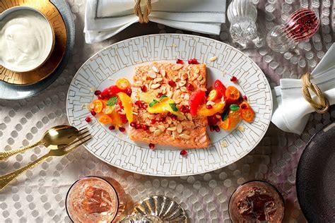 cucinare trancio di salmone ricetta trancio di salmone con agrumi e maionese di