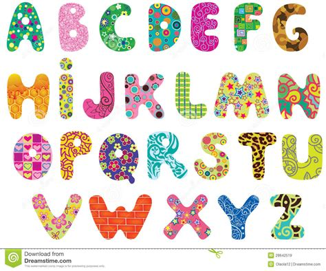 arts and letters cute alphabet letters printable 1082