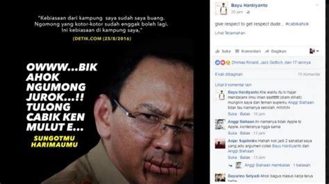 ahok ngomong kotor asal ngomong bilang bahasa babel kotor orang babel minta
