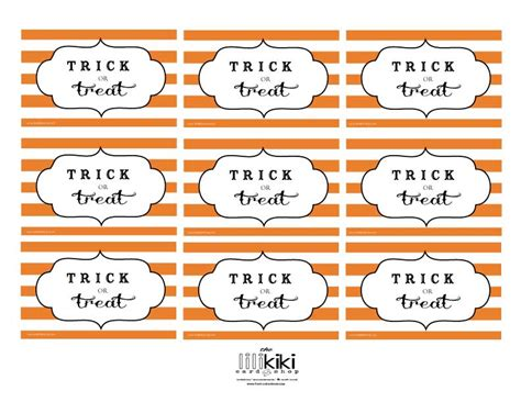 free printable gift tags for halloween treats the lili kiki card shop