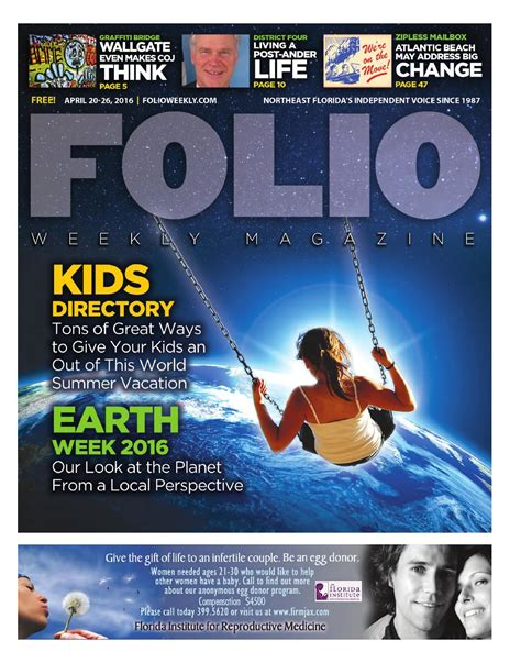 earth rising the splashdown saga continues volume 2 books 04 20 16 directory earth week 2016 by folio weekly