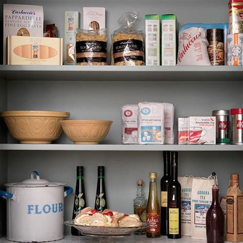 kitchen food storage ideas open painted shelving for food storage kitchen shelving ideas decorating housetohome co uk