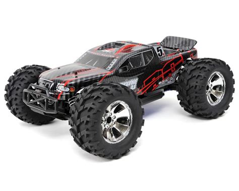 redcat earthquake 3 5 1 8 rtr 4wd nitro monster truck red rerearthquake3 5nit cars