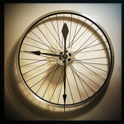 unique large wall clocks bike wheel clock large wall clock unique clock by