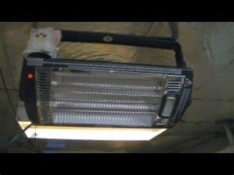 profusion heat ceilingmounted workshop heater with