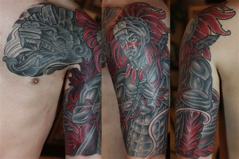 tattoo parlors in san diego san diego artists aztec by terry ribera
