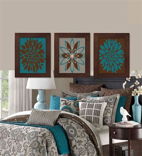 Brown Home Decor Ideas best 25 teal brown bedrooms ideas on blue