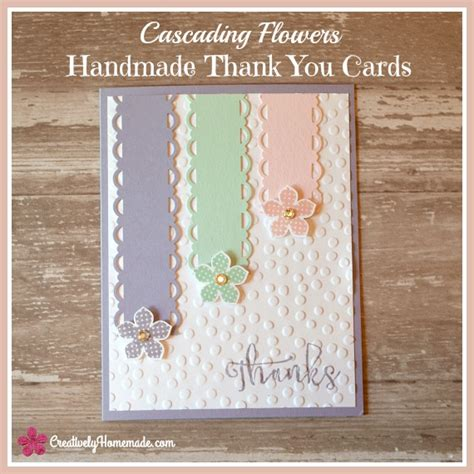 Easy Handmade Thank You Cards - featuring you flour me with