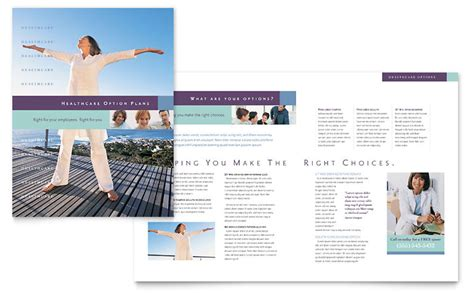 insurance company brochure template word publisher