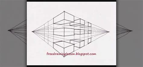 0 Point Perspective Drawing by Two Point Perspective Drawing Pictures To Pin On