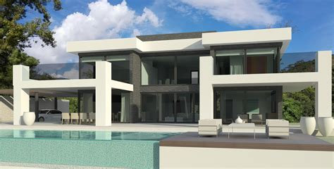 villa modern modern turnkey villa in marbella by norwegian builder